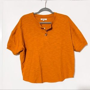 NWT Madewell Button-up Top